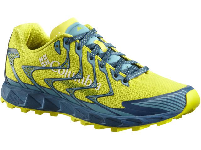 Columbia Rogue F.K.T. II Løbesko Herrer gul/turkis | Running shoes